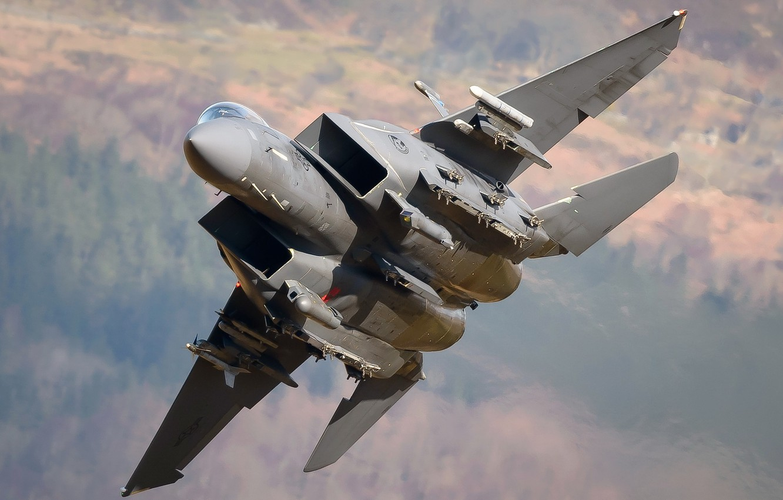 Photo wallpaper weapons, the plane, F-15E