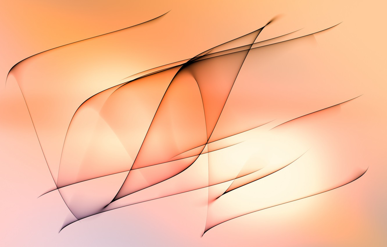 Photo wallpaper line, background, minimalism