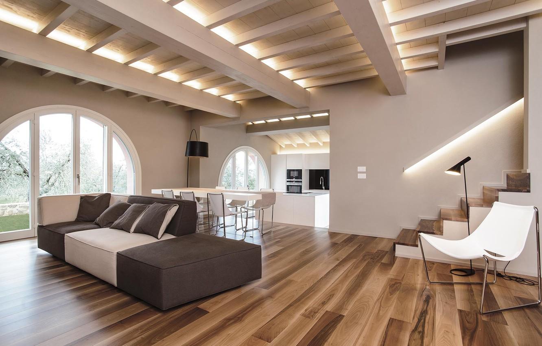 Photo wallpaper Villa, interior, living space, First Love Villa
