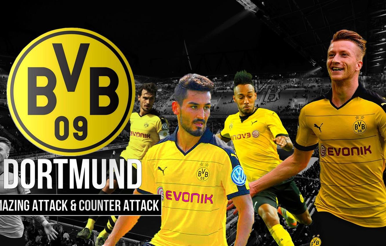 Wallpaper Wallpaper Sport Logo Stadium Football Borussia Dortmund Players Signal Iduna Park Images For Desktop Section Sport Download