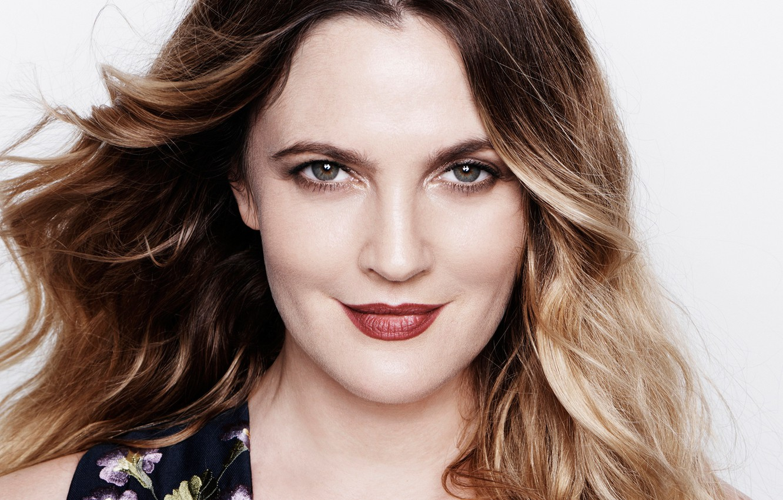 Photo wallpaper smile, actress, Drew Barrymore