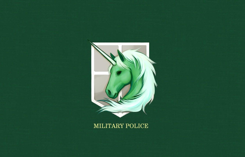 Wallpaper Game Anime Asian Manga Military Police Unicorn Japanese Oriental Asiatic Attack On Titan Shingeki No Kyojin Horn Coat Of Arms Mythological Animal Images For Desktop Section Syonen Download