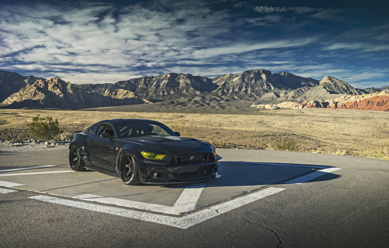 Photo wallpaper Mustang, Ford, SEMA, Brands, DVG
