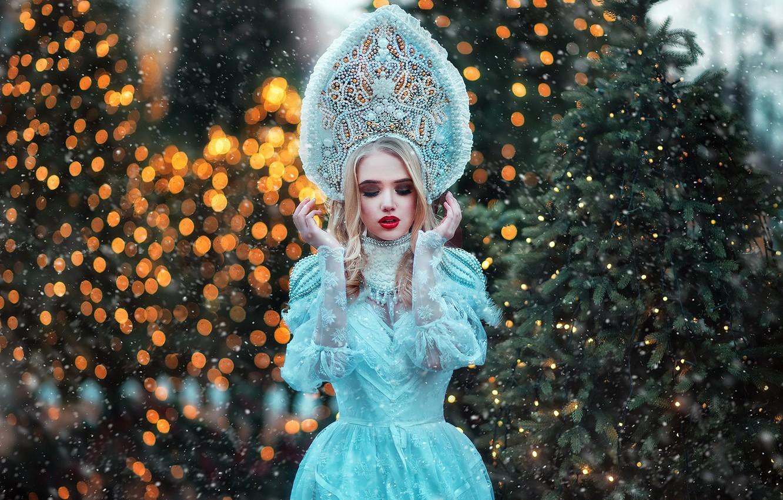 Photo wallpaper pose, glare, style, model, outfit, Maiden, Maria Lipina, Lida Domracheva