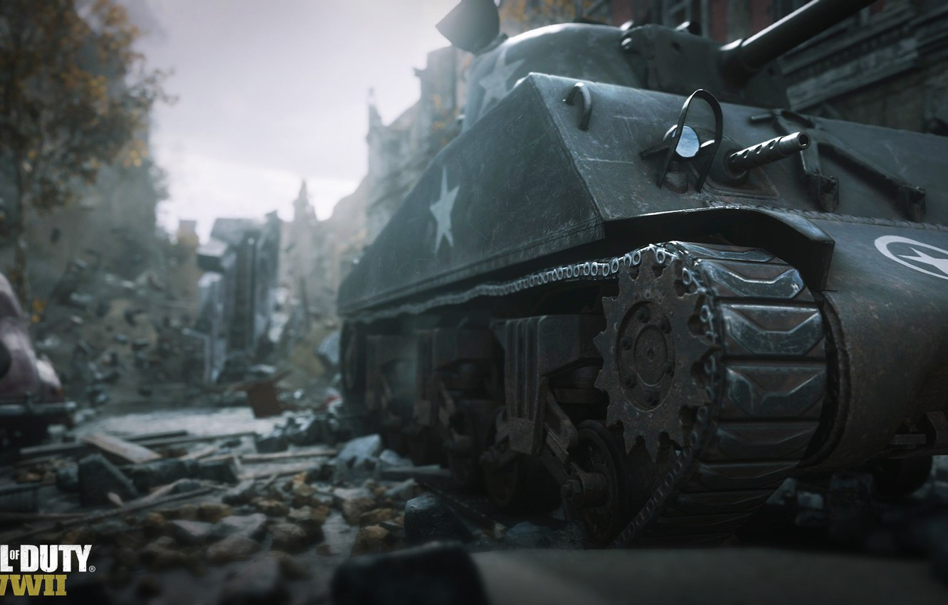 Wallpaper Call Of Duty Tank Building World War 2 Ww2