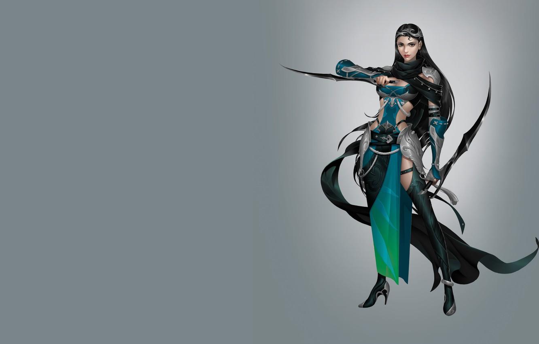 Photo wallpaper weapons, art, costume, assassin, character, Hidden door knife, Hao hao