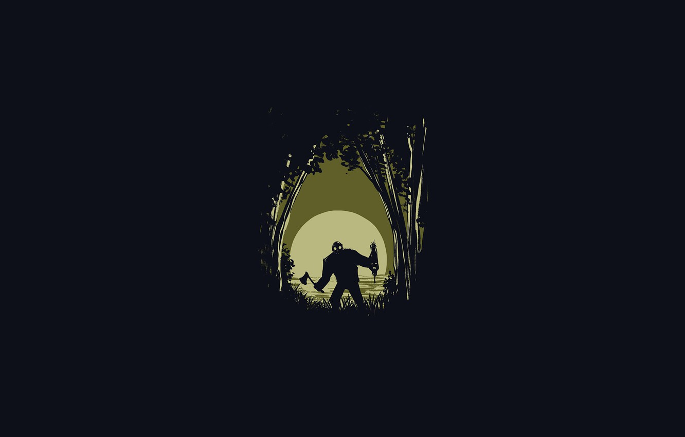 Wallpaper Jason Voorhees Jason Voorhees The Friday The 13th