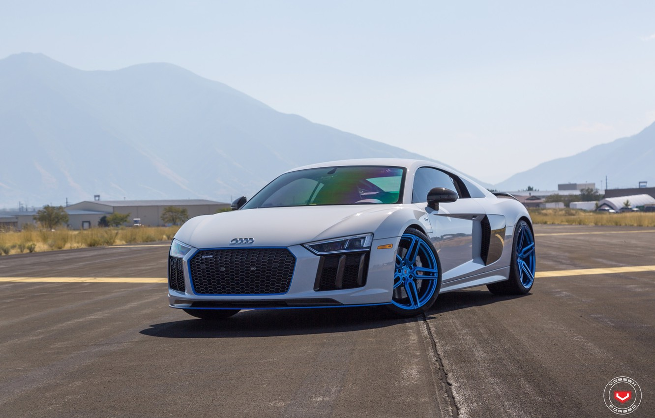 Photo wallpaper Audi, Forged, Vossen, HC-1, 1007