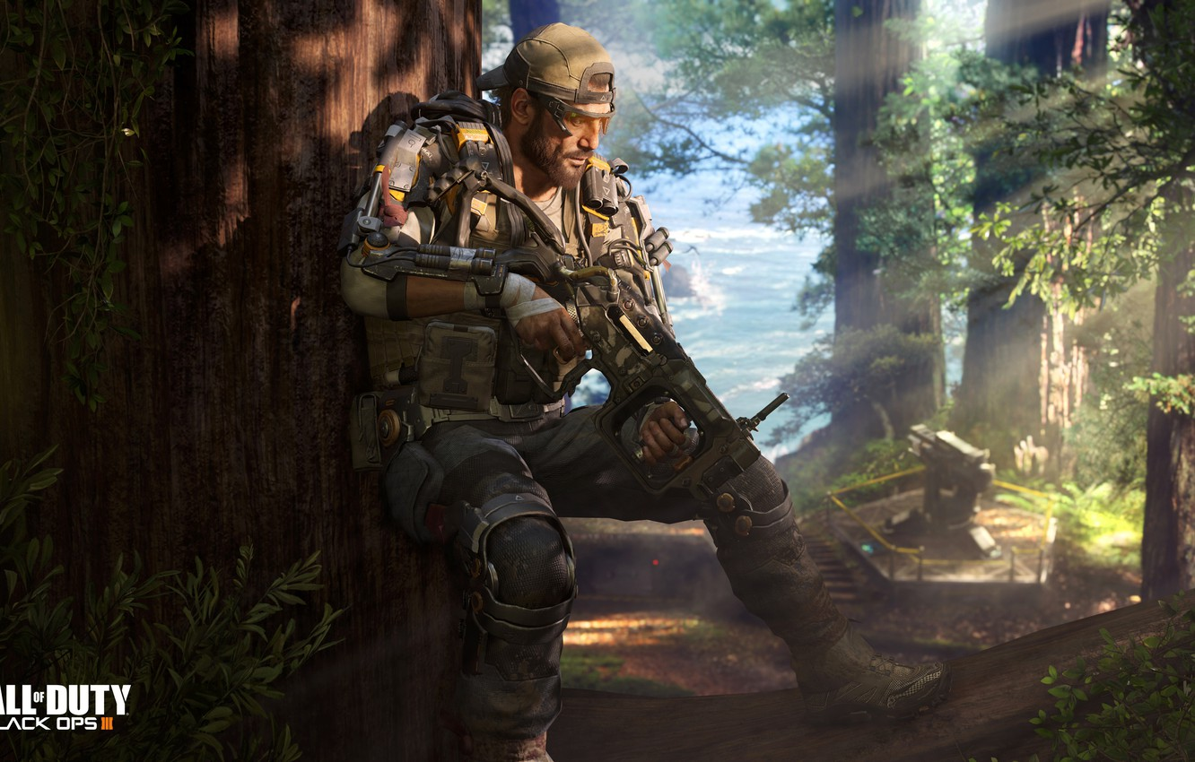 Wallpaper Forest Soldiers Call Of Duty Black Ops 3 Images For