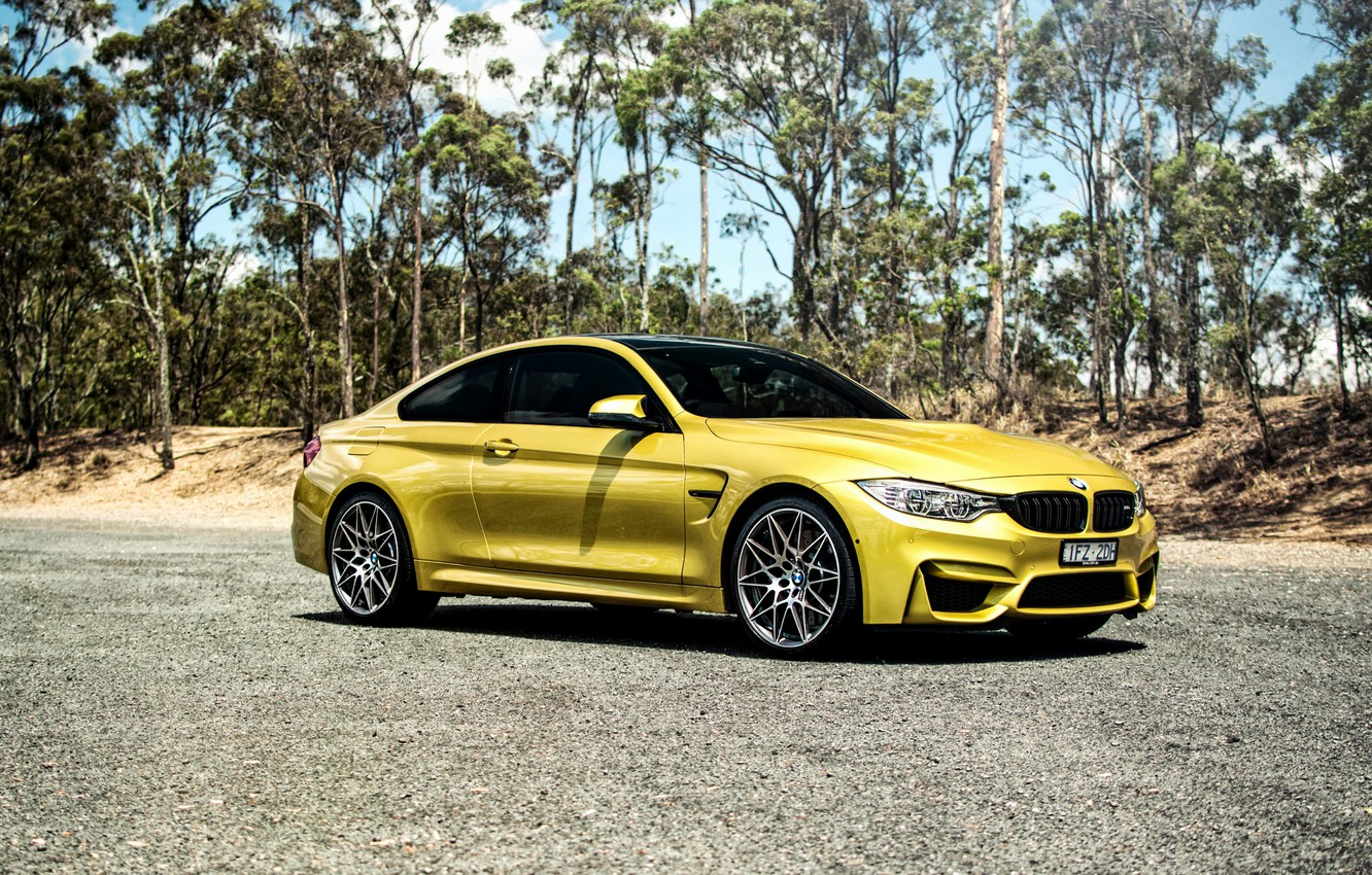 Photo wallpaper BMW, BMW, side, Coupe, F82