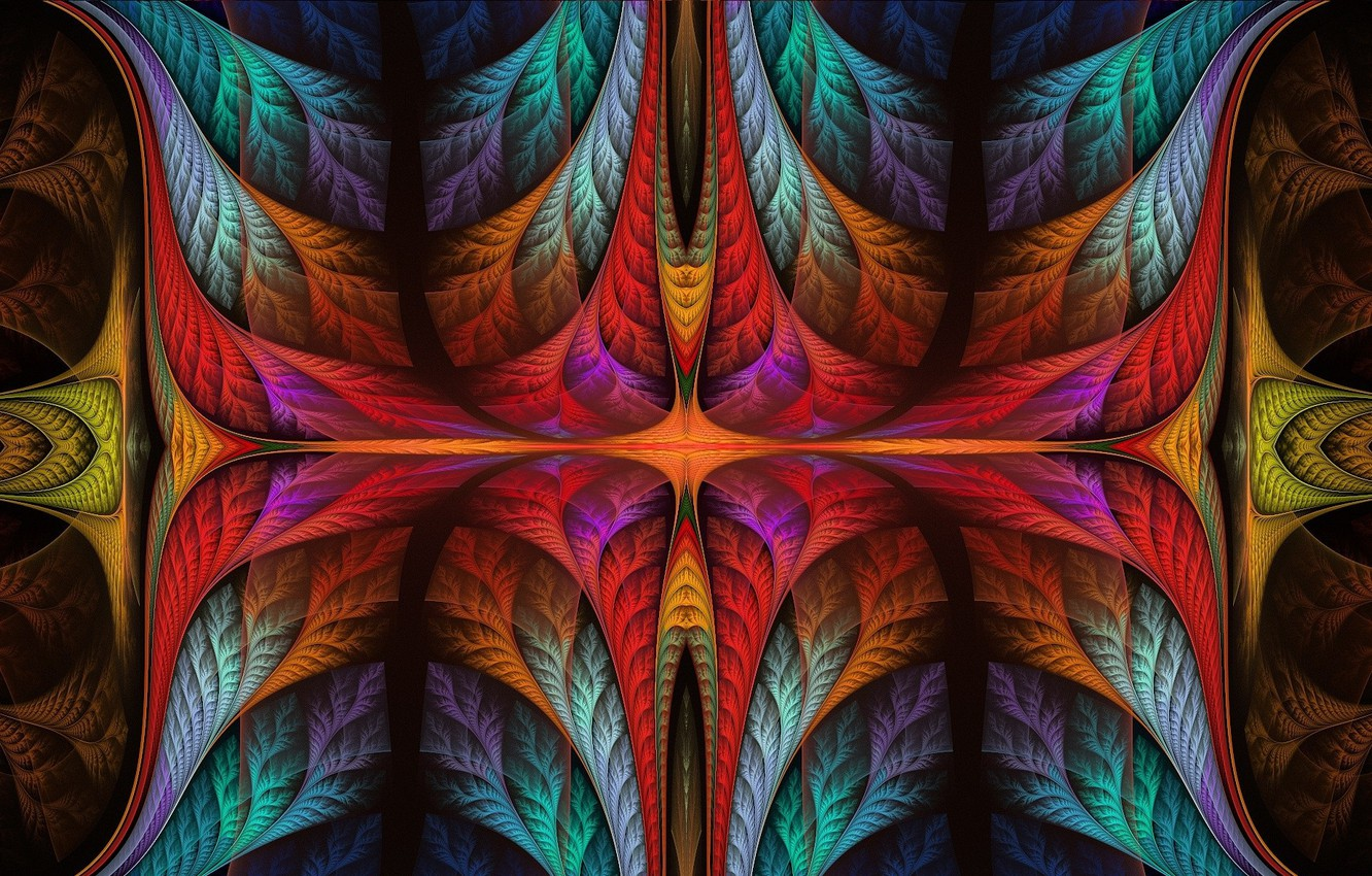 Photo wallpaper Color, Pattern, Abstraction