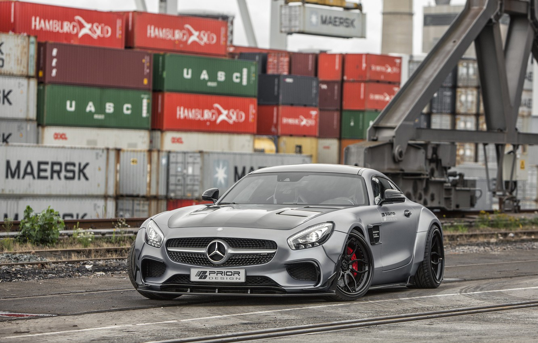 Photo wallpaper coupe, Mercedes-Benz, Mercedes, supercar, Mercedes, AMG, Coupe, Prior-Design, C190, PD800GT