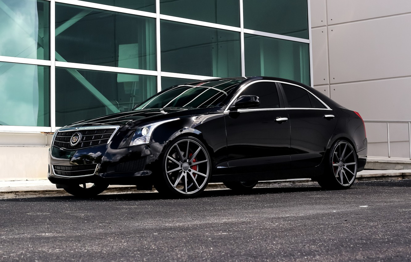 Photo wallpaper Cadillac, custom, ATS, JL Audio