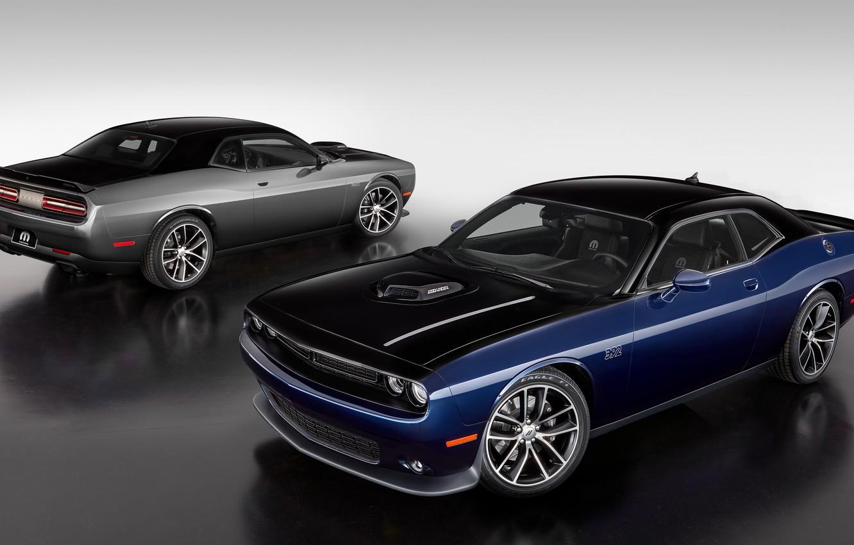 Photo wallpaper Dodge, Challenger, Dodge, Challenger, Mopar