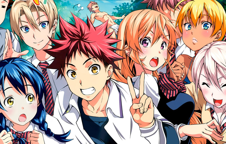 Photo wallpaper anime, manga, japanese, Shokugeki no Souma