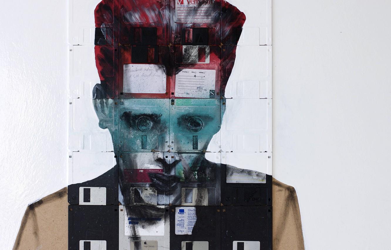 Photo wallpaper Joker, Nick Gentry, CROSS REFERENCED