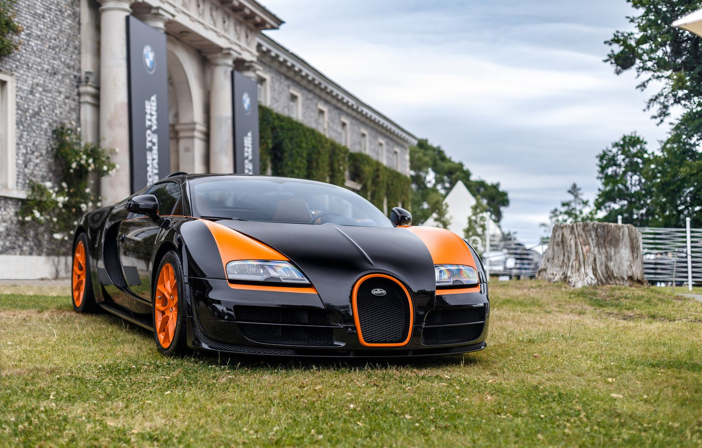 Photo wallpaper veyron, sport, bugatti, super