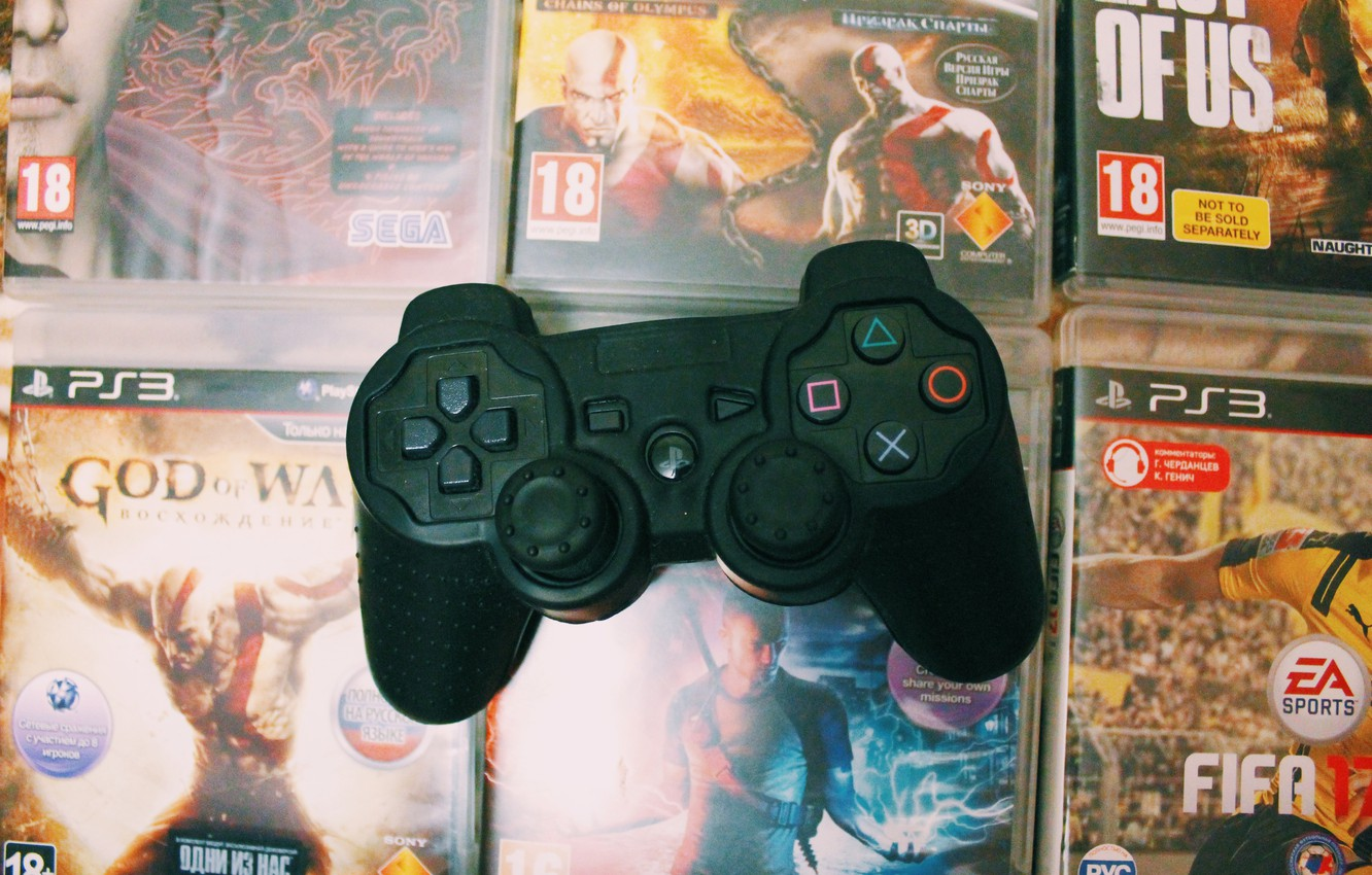 Photo wallpaper Game, ps3, gamepad, playstation