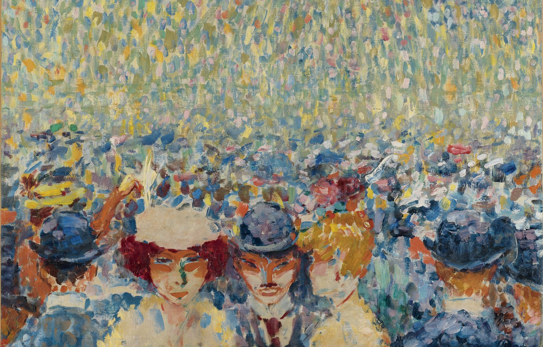 Photo wallpaper oil, canvas, Moulin de La Galette, 1906, Kees van Dongen