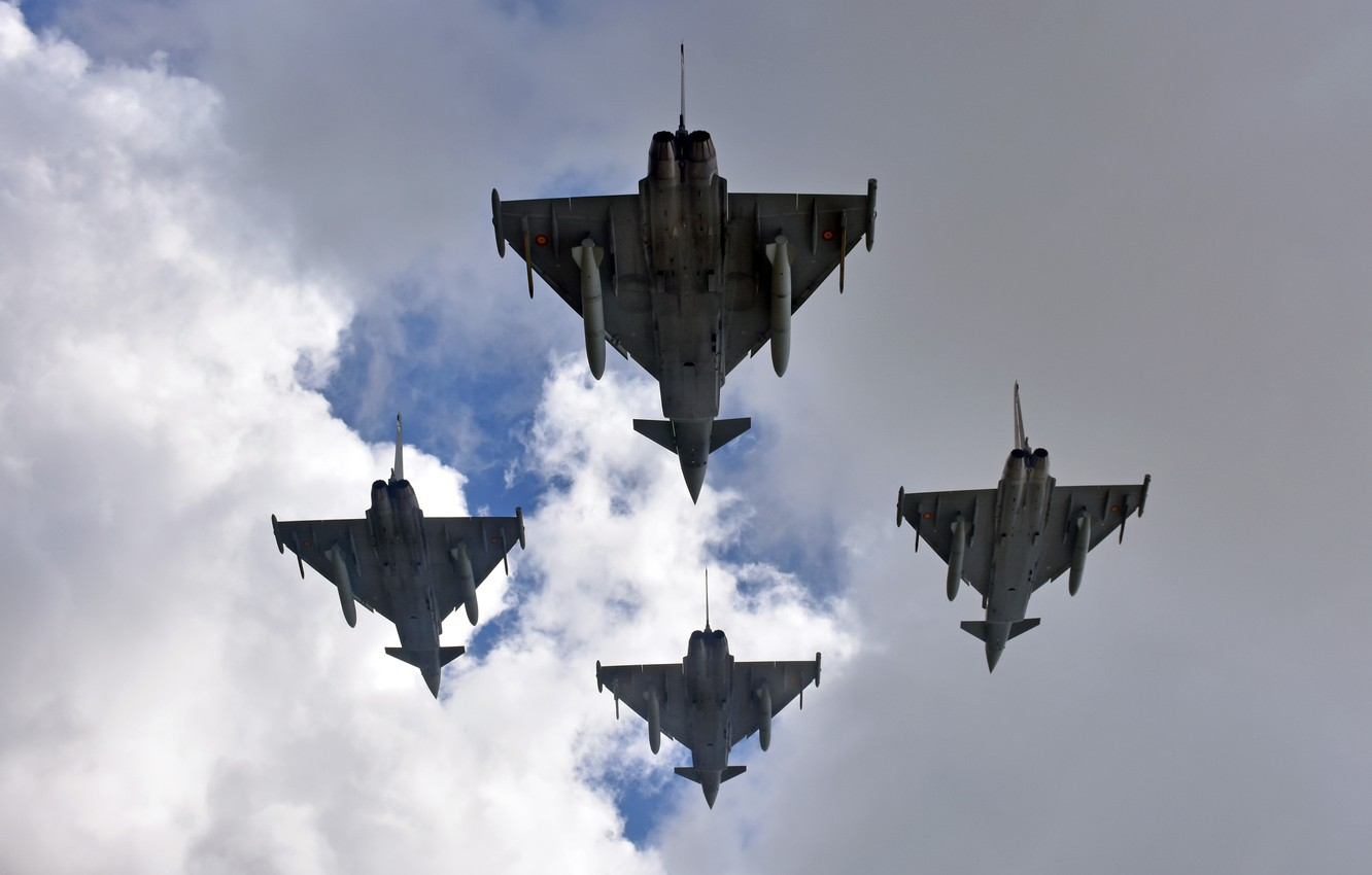 Photo wallpaper weapons, aircraft, Eurofighter Typhoon