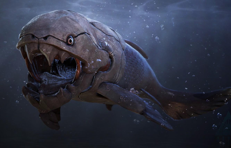 Photo wallpaper teeth, Depth, Shark, white shark, Skin, teeth, Great white shark, Depth, by Shake It Off, …