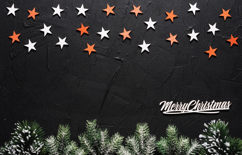 Photo wallpaper texture, stars, twigs