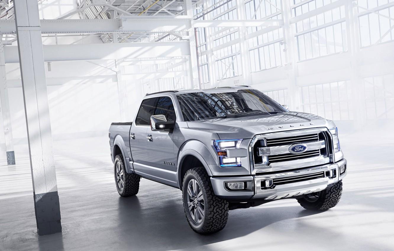 Photo wallpaper Ford, SUV, pickup, Atlas-C