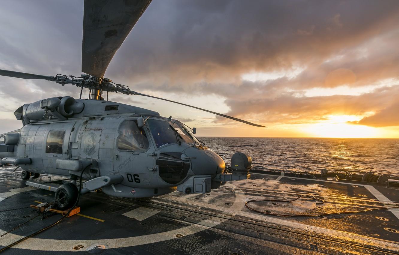 Обои MH-60R, армия, Sea Hawk helicopter. Авиация foto 16