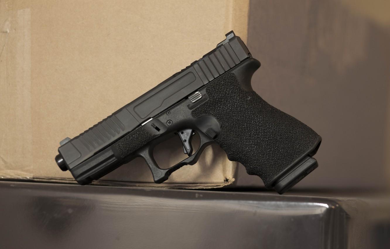 Photo wallpaper pistol, FI Mk 1, G19