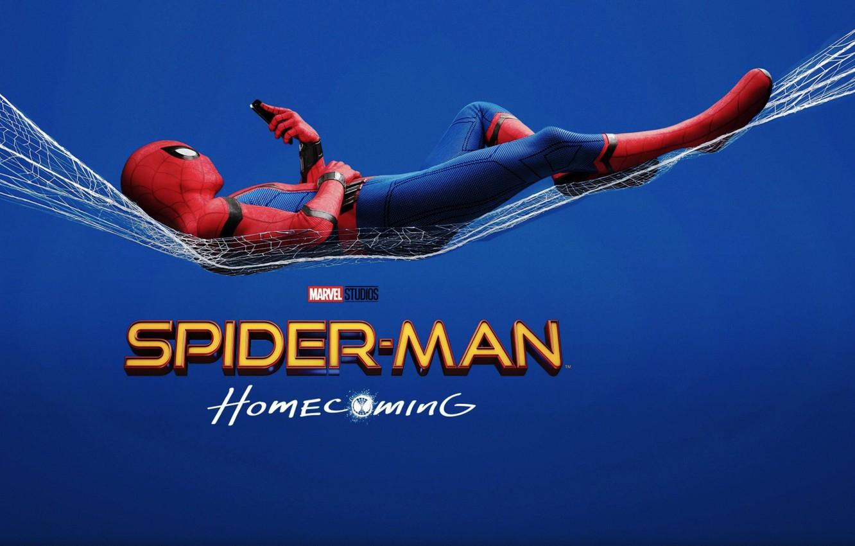 Photo wallpaper Marvel Comics, Movie, Tom Holland, Spider-Man: Homecoming, Spider-man: the Return Home