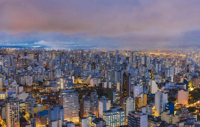 Panorama São Paulo fonte: img4.goodfon.com