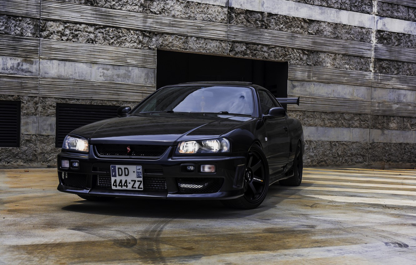 Photo wallpaper Nissan, Skyline, R34, GT-T