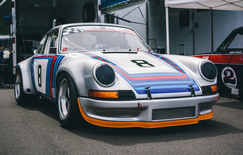 Photo wallpaper style, sports, Porsche 911, the front, RSR