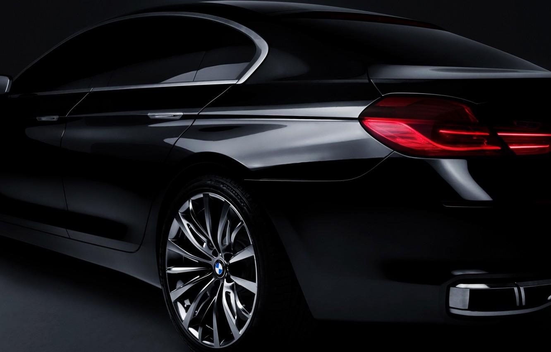 Photo wallpaper background, black, lights, BMW