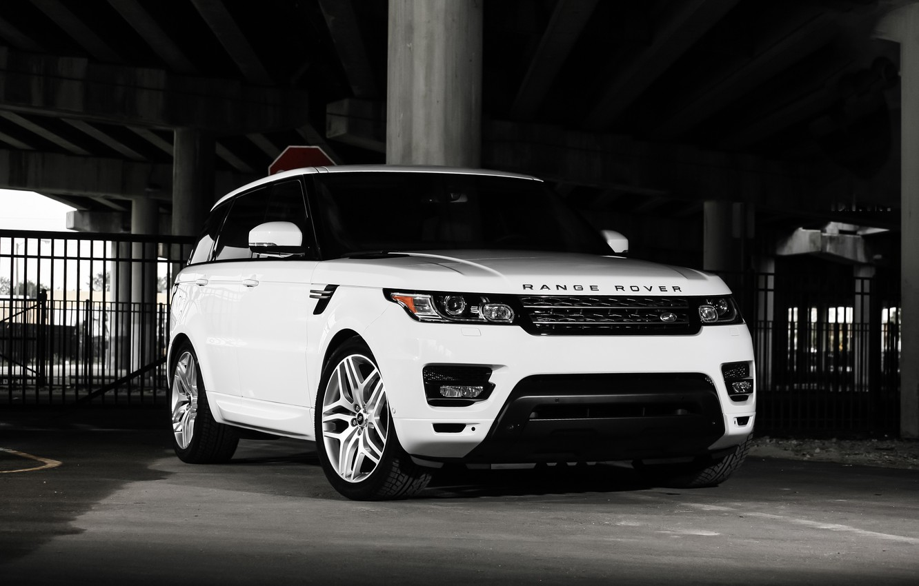 Photo wallpaper Range Rover, with, color, Sport, matched