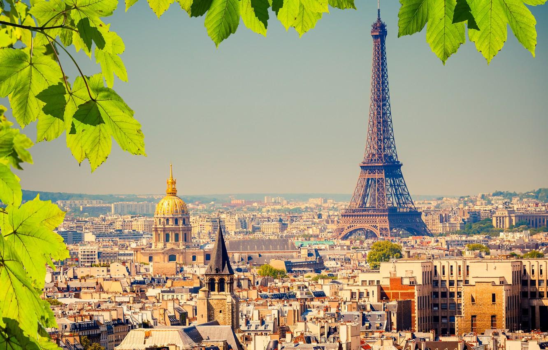 Photo wallpaper France, Paris, Home, The city, Eiffel Tower