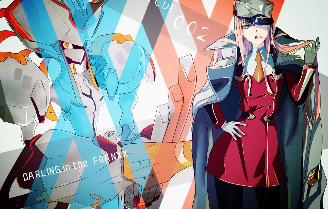 Wallpaper Girl Background Being Darling In The Franxx Images
