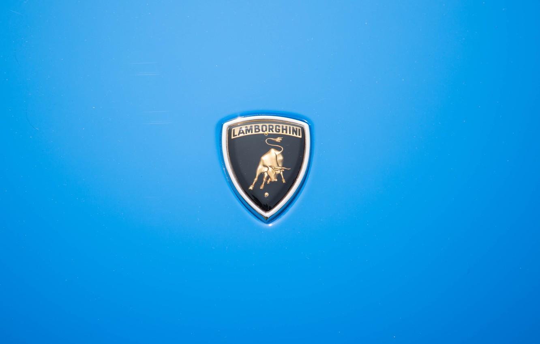 Wallpaper Auto Blue Lamborghini Machine Classic Logo Logo Car