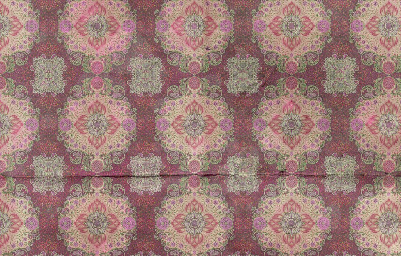 Photo wallpaper pattern, ornament, vintage, texture, background, pattern, paper