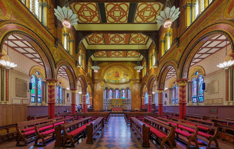 Wallpaper Interior London Uk Diliff Kings College