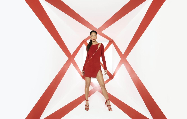 Photo wallpaper pose, Nicole Scherzinger, singer, celebrity