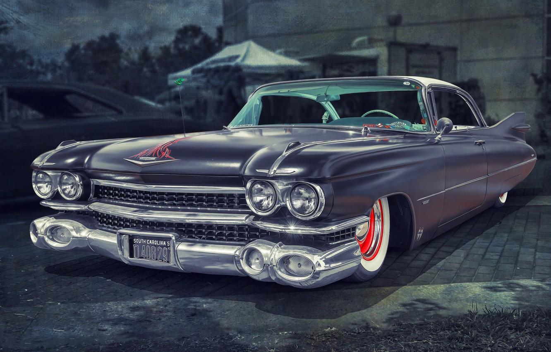 Photo wallpaper Cadillac, 1959, Fleetwood