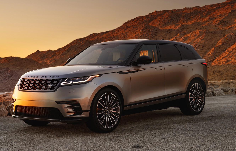 Photo wallpaper Land Rover, Range Rover, 2018, Dynamic, Velar