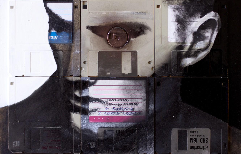 Photo wallpaper style, floppy, Nick Gentry, SPOTLIGHT