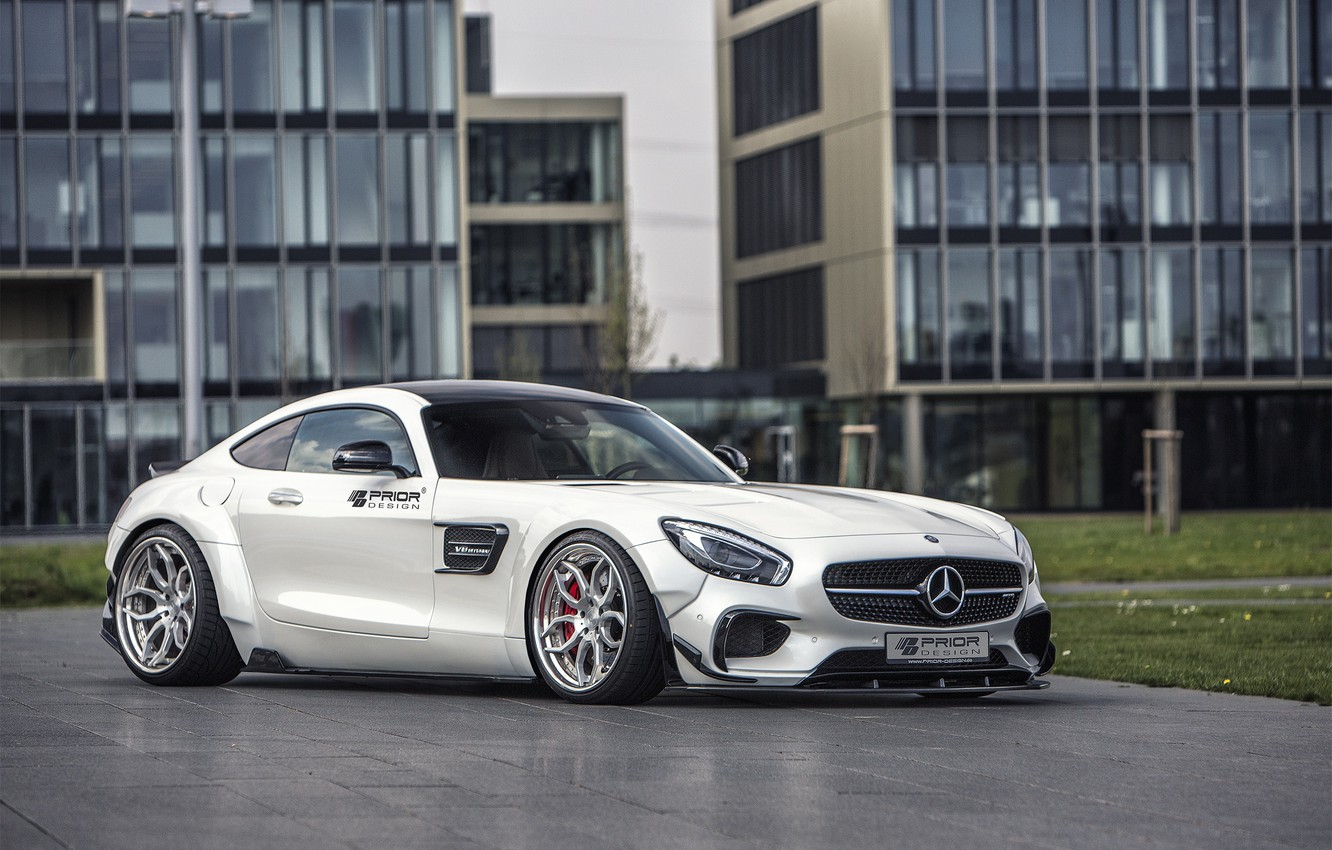 Photo wallpaper coupe, Mercedes-Benz, Mercedes, supercar, Mercedes, AMG, Coupe, Prior-Design, C190, PD800GT, GT-Class