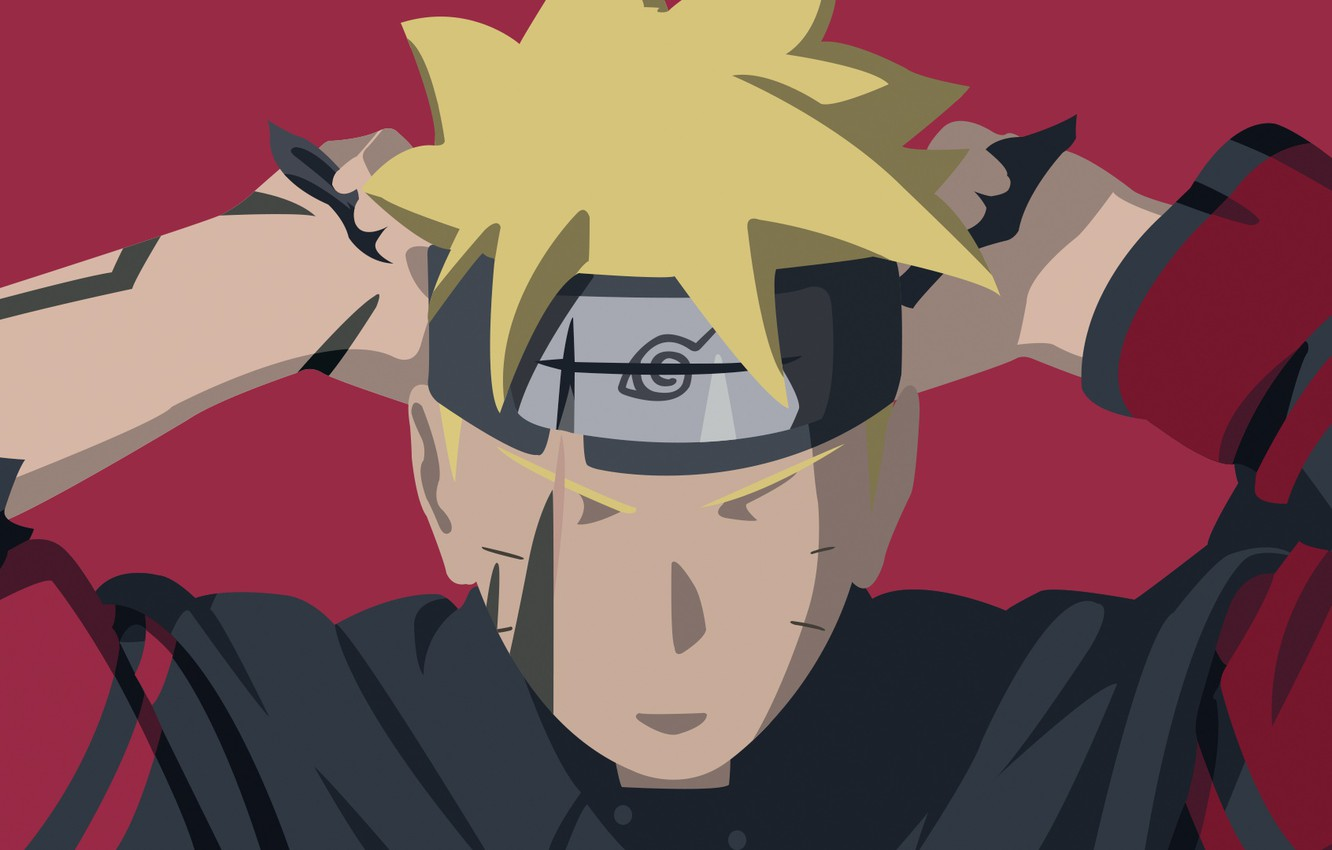 Wallpaper Naruto Ninja Shinobi Hitaiate Scar God Slayer