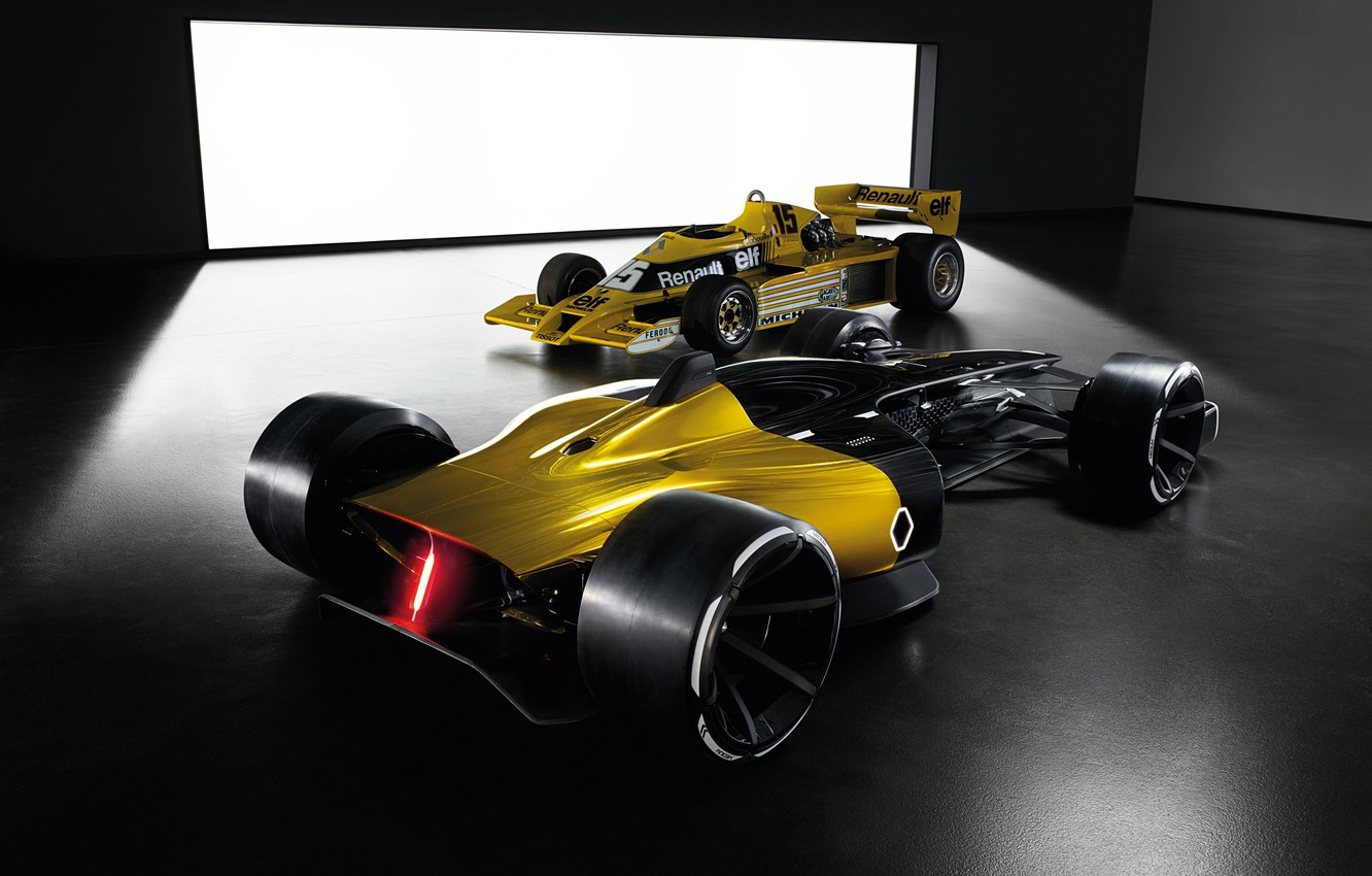 Photo wallpaper car, Renault, sport, race, speed, Renault RS 2027 Vision