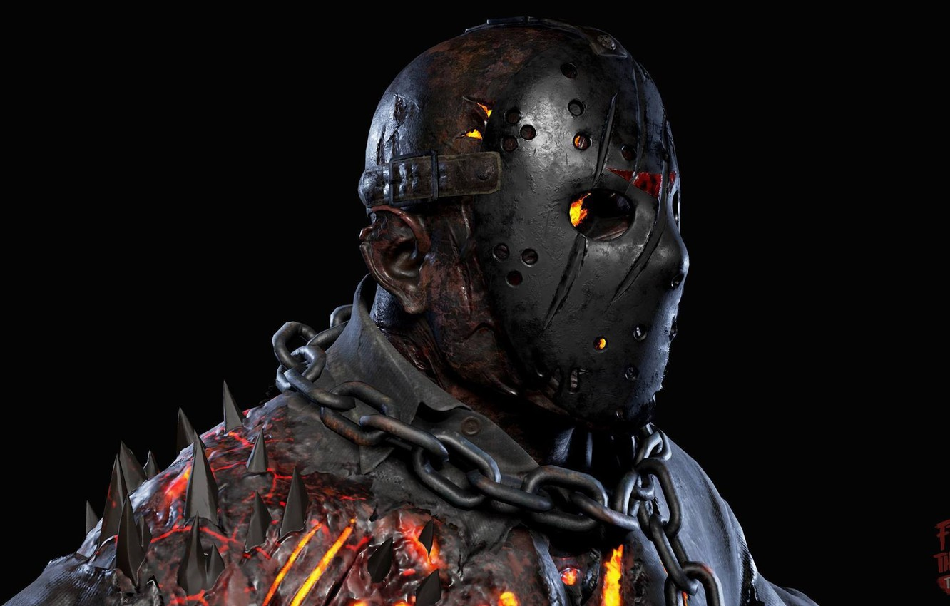 Wallpaper Demon Jason Voorhees Game Monster Devil Fear