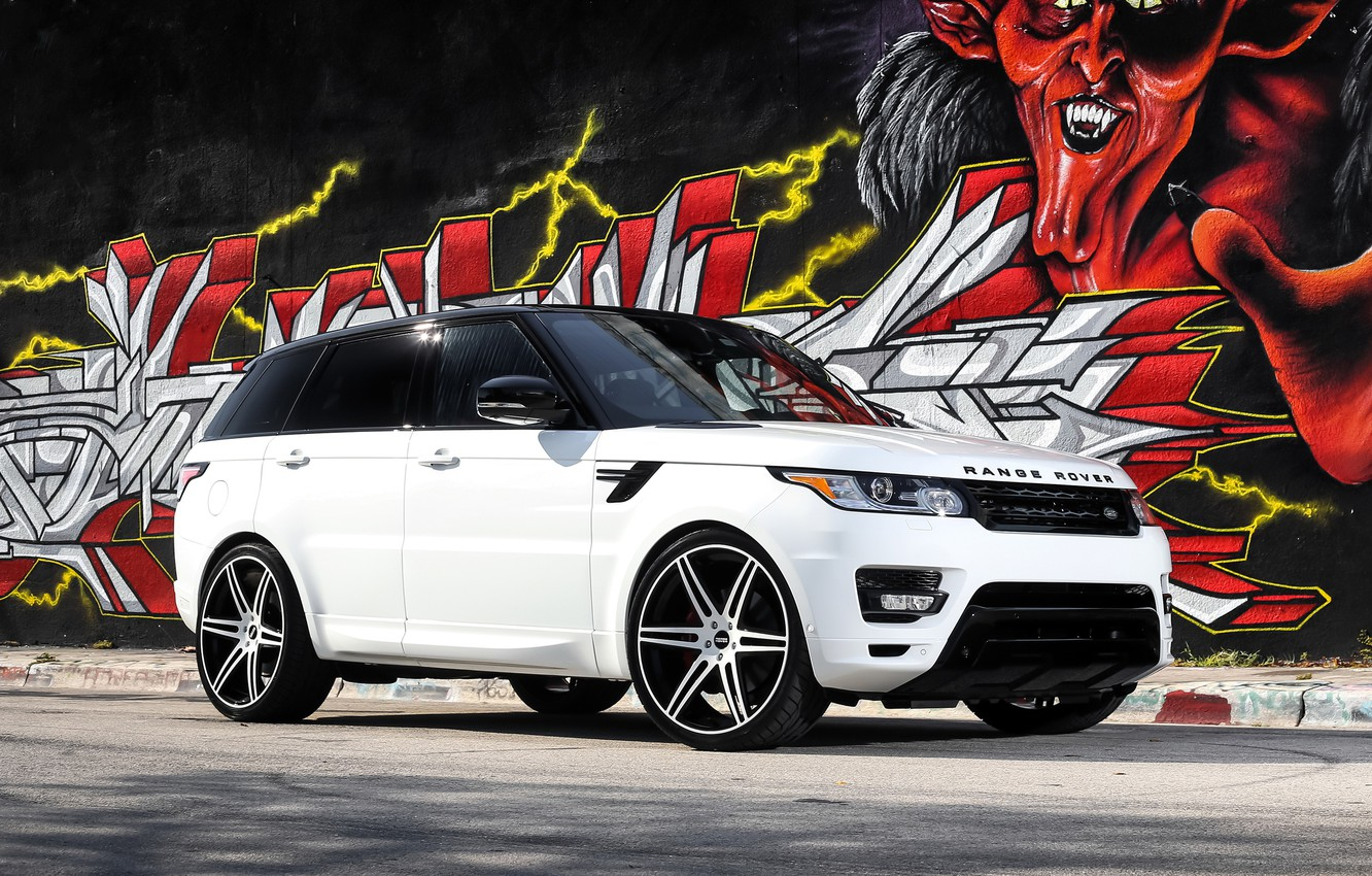 Photo wallpaper Range Rover, with, Sport, exterior, matched