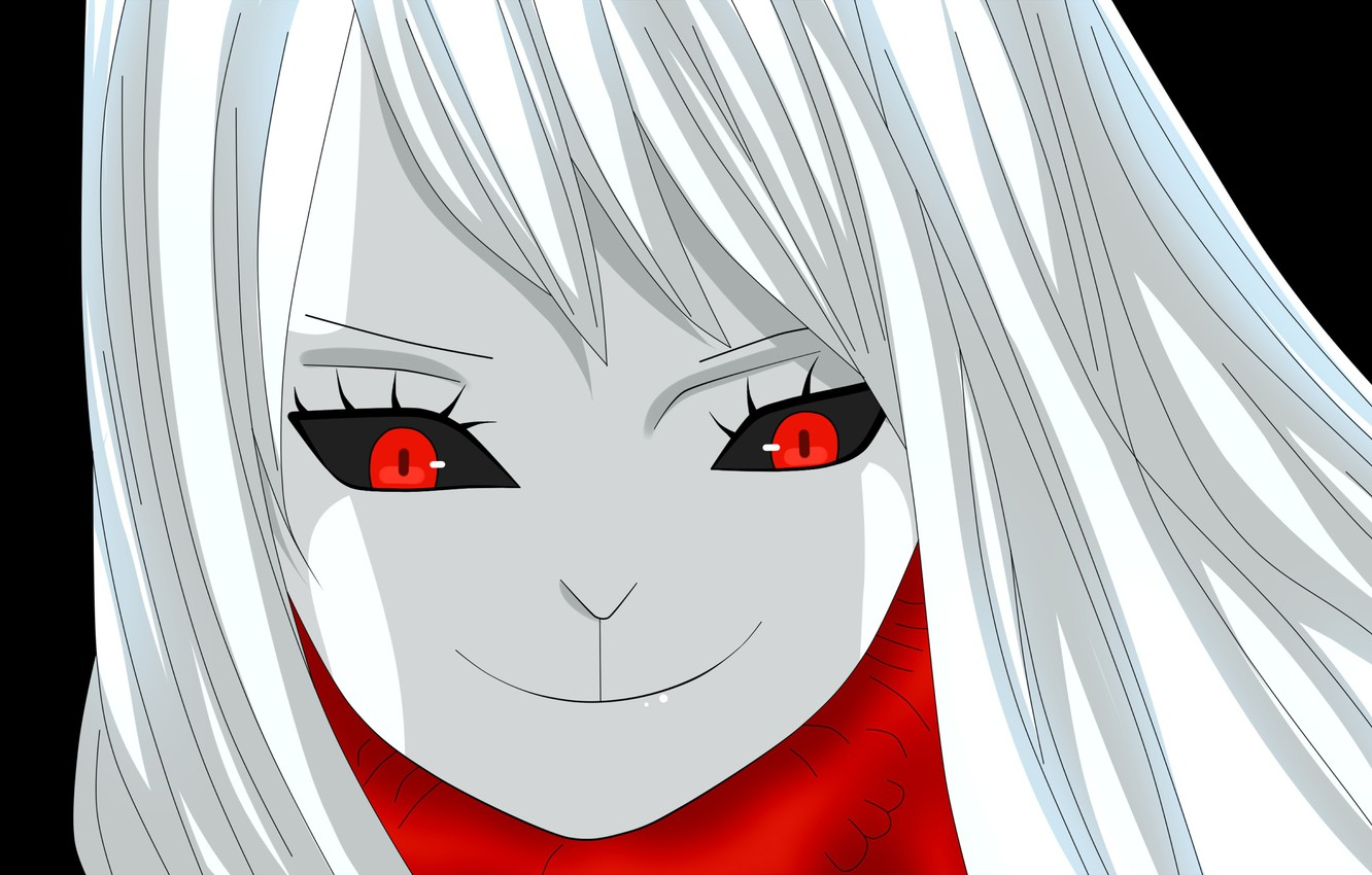 Wallpaper Girl One Piece Anime Red Eyes Transformation Warrior